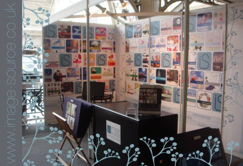 Image Source Art Licensing stand at PG Live